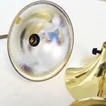 Mässingslampa Börje Claes 60-talet