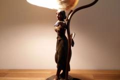 Reparerad lampa jugend el