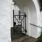 Port till kyrkan Fiskebäckskil