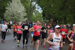 Christine sprang Göteborgsvarvet 2013