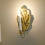 Lampett i mässing reparerad