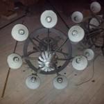 Ljuskronor I Masthuggskyrkan Göteborg