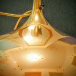 Paavo Tynell Mässing Lampa Reparerad